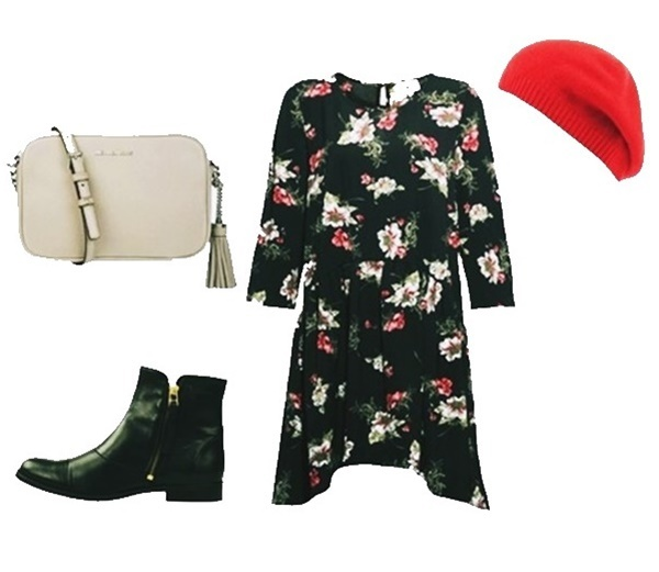 Outfit of The Day: Floral Print Dress