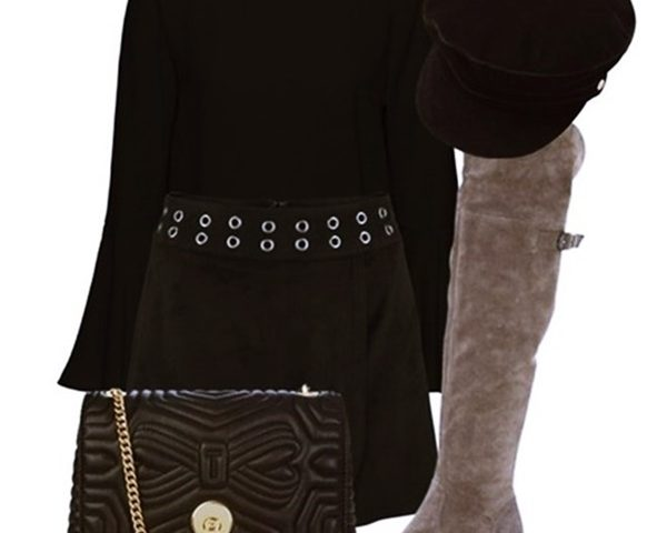 Outfit of the Day: Over-the-knee Boots