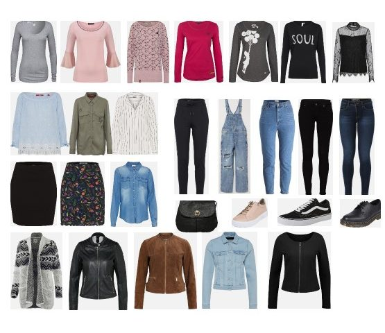 Transitional Casual Capsule Wardrobe