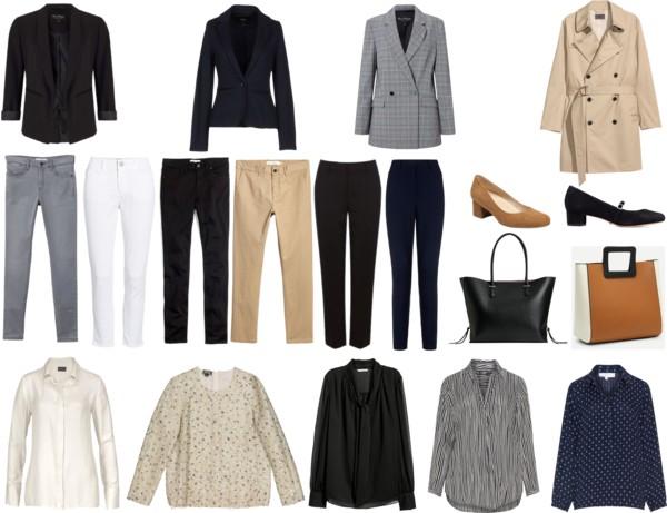 Spring Workwear Capsule Wardrobe (2)