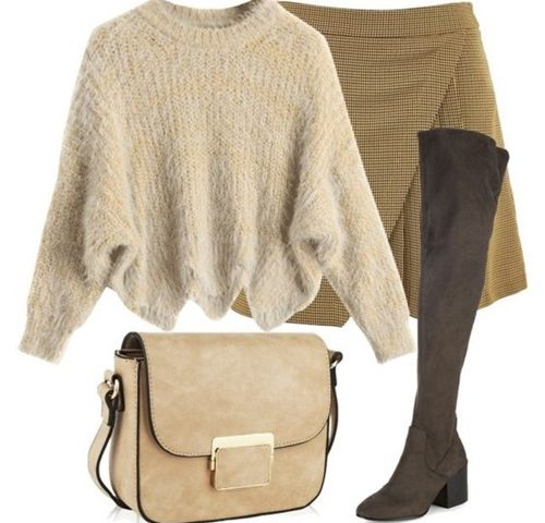 Outfit of the Day: Camel and Brown