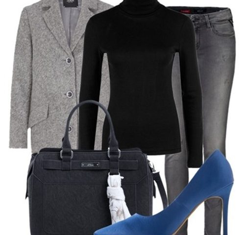 Outfit of the Day: Blue Pumps
