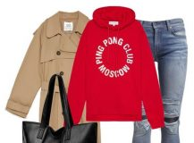 Outfit of the Day: Red Hoodie