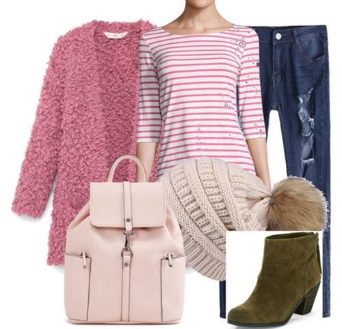 Outfit of the Day: Pink