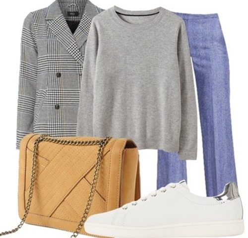 Outfit of the Day:  Coat and Sneakers