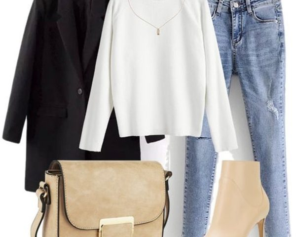 6 Outfits with White Turtleneck Sweaters