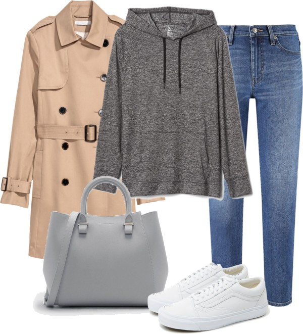 Outfit of the Day: a comfy way to wear a Trenchcoat