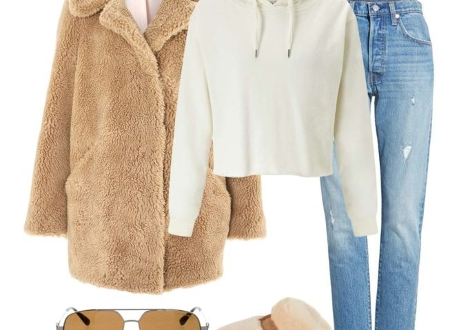 Outfit of The Day: Teddy Bear Coat