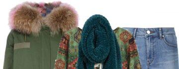 Bella Hadid Inspiration Look: Red Fur Coat