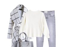 Outfit of the Day: A White Checked Coat