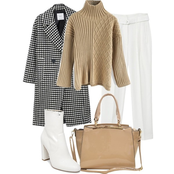 Outfit of the Day: Camel Sweater