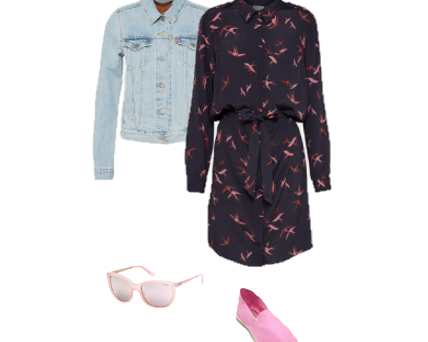 Two Ways to Wear a Shirt Dress