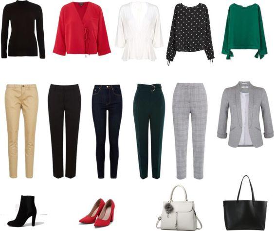 Spring Workwear Capsule Wardrobe
