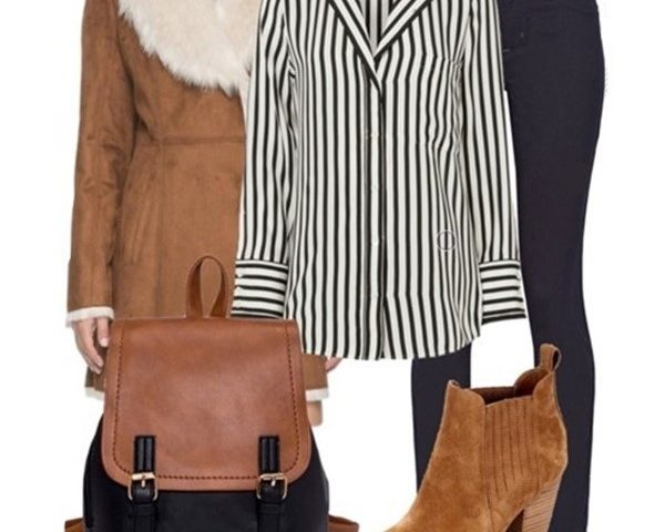 Outfit of The Day: a Striped Blouse