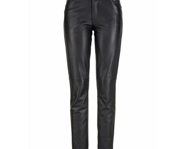 1 Pair of Leather Pants, 3 Outfits