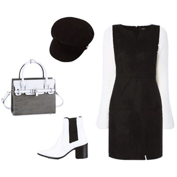 Outfit Of The Day: Black and White