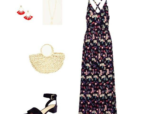Outfit of The Day: A Floral Maxi Dress