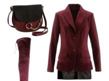 Outfit of the Day: Burgundy