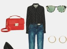 Outfit of the Day: Polka-Dots