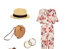 Outfit Of The Day: a Floral Jumpsuit for Summer