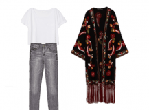 Outfit of the Day: A Floral Embroidery Kimono