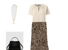 Outfit of the Day: A Leopard Print Skirt
