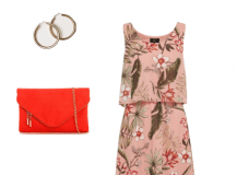 Outfit of the Day: A Pink Floral Dress