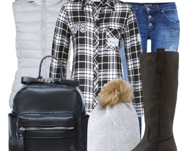 Outfit of the Day: Plaid Shirt