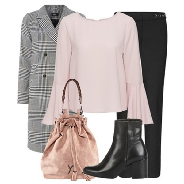 Outfit of the Day: Pink Blouse
