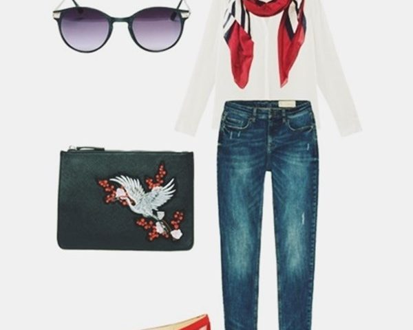 Outfit of The Day: A Red touch