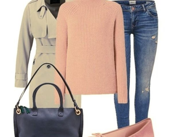Outfit of the Day: Pink Pullover