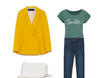 Outfit of the Day: Green and Mustard Look