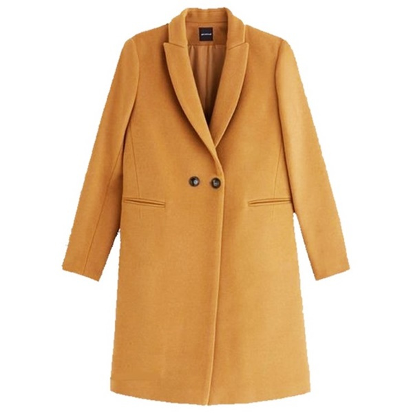 One Camel Coat, Four Outfits