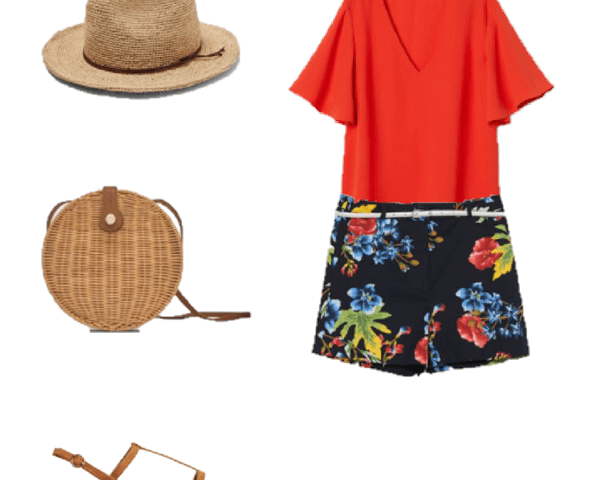 Outfit of the Day: Floral Shorts