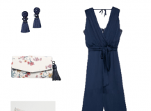 Outfit of the Day: A Navy Jumpsuit for an Event