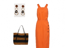 Outfit Of The Day: An Orange Dress