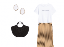 Outfit of the Day: Striped Pants with Espadrilles