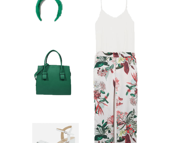 Outfit of The Day: Tropical Pants