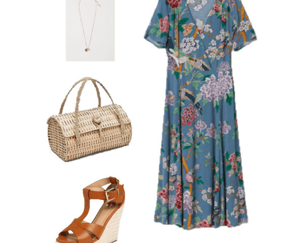 Outfit of the Day: A Tropical Print Dress