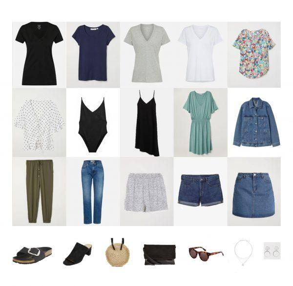 Summer Vacation: Packing List and Outfits