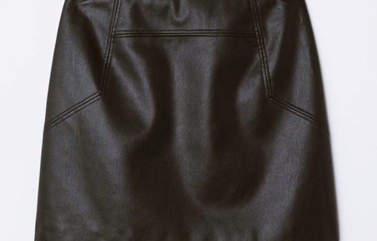 Una falda de cuero, cuatro formas