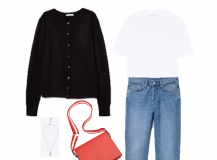 Look of the Day: Basics for the Transitional Season