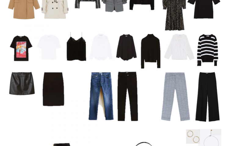 Autumn Capsule Wardrobe 2018
