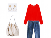 Look of the Day: A Red Sweater