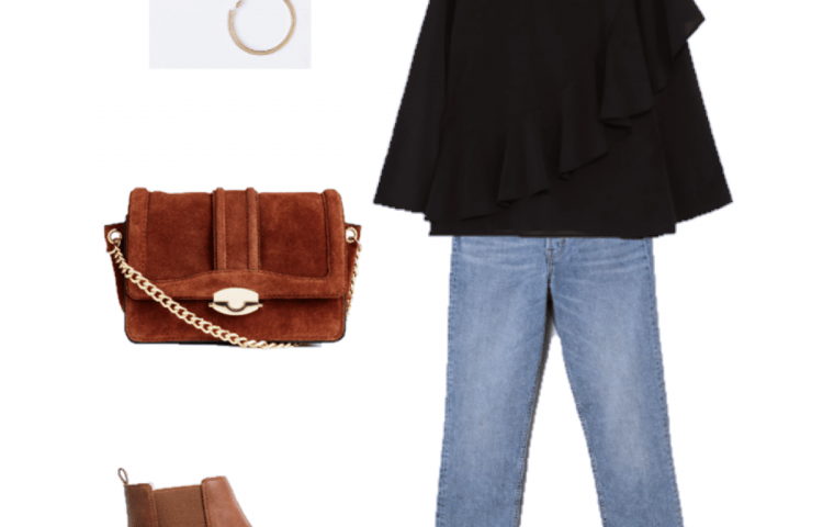 Look of the Day: Black and Brown