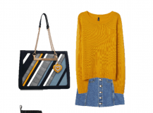 Outfit of The Day: A Mustard Sweater for Autumn Days