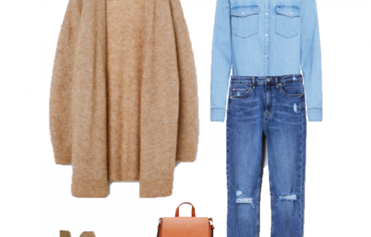 Outfit of the day: denim total look