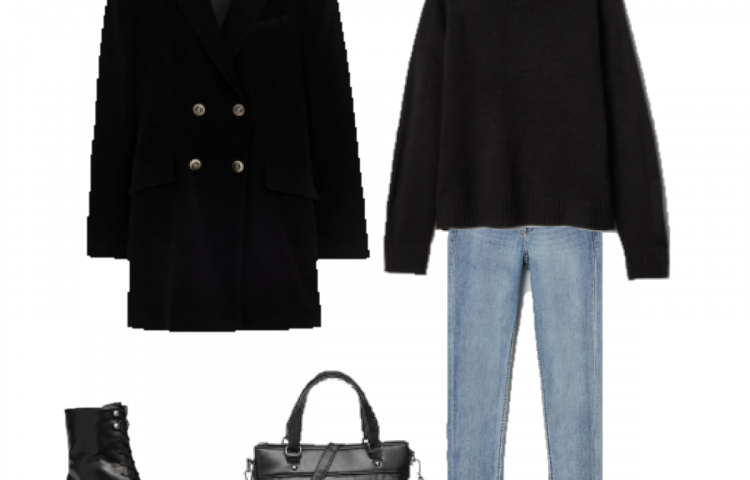 Outfit of the Day: a Velvet Coat