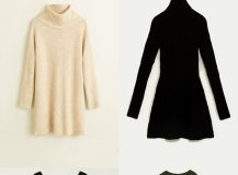 Fall Outfits with Knit Dresses