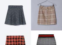 Minifaldas de cuadros: Tendencias y Looks